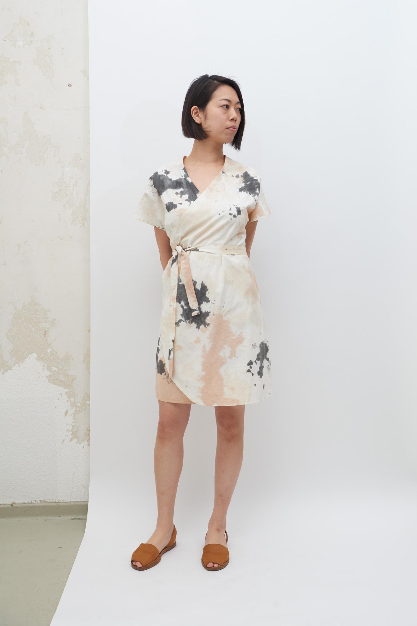 Rappu Dress - Tea Stains