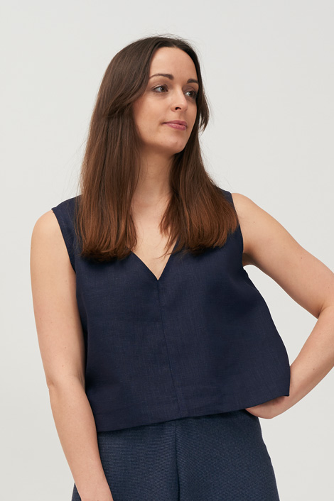 SWITCH TOP - Navy