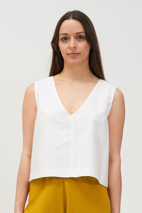 SWITCH TOP - White