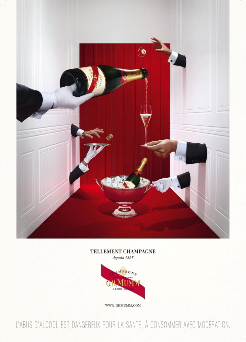 Campagne Mumm, agence Marcel, photo Martin Vallin, 2012
