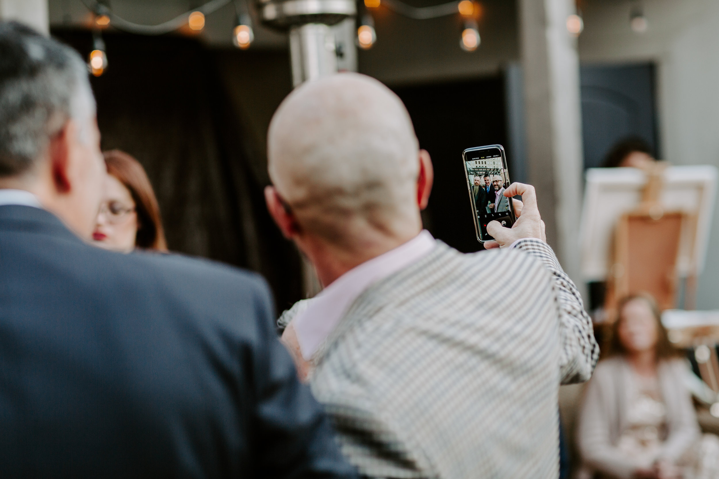 Catahoula Hotel Rooftop Wedding Ceremony New Orleans Wedding Photographer Ashley Biltz Photography25.jpg