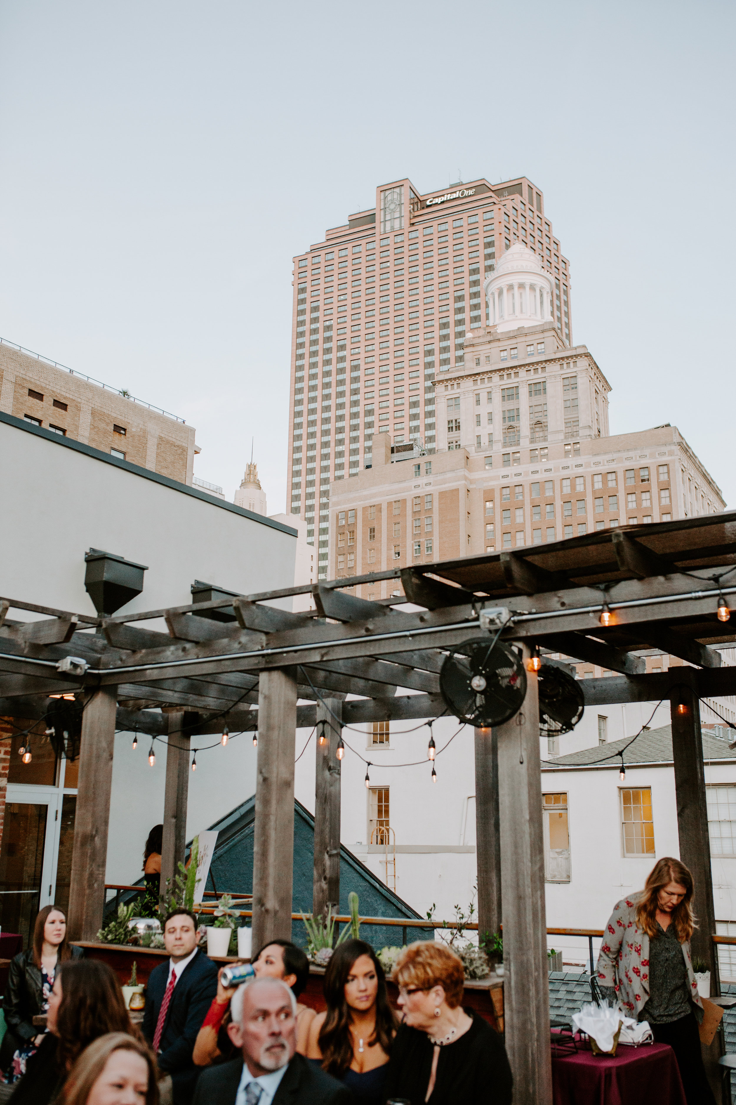 Catahoula Hotel Rooftop Wedding Ceremony New Orleans Wedding Photographer Ashley Biltz Photography31.jpg