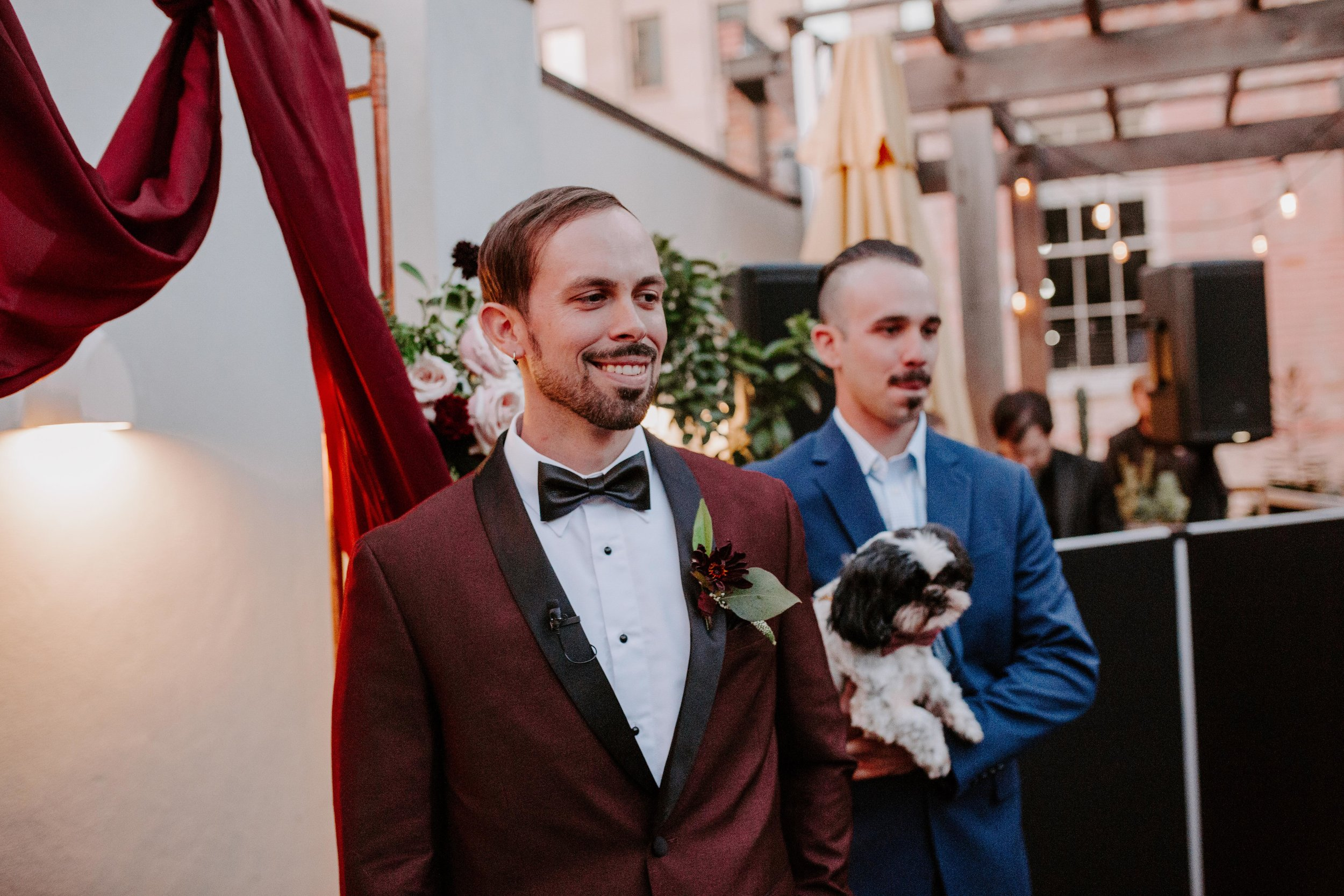 Catahoula Hotel Rooftop Wedding Ceremony New Orleans Wedding Photographer Ashley Biltz Photography37.jpg