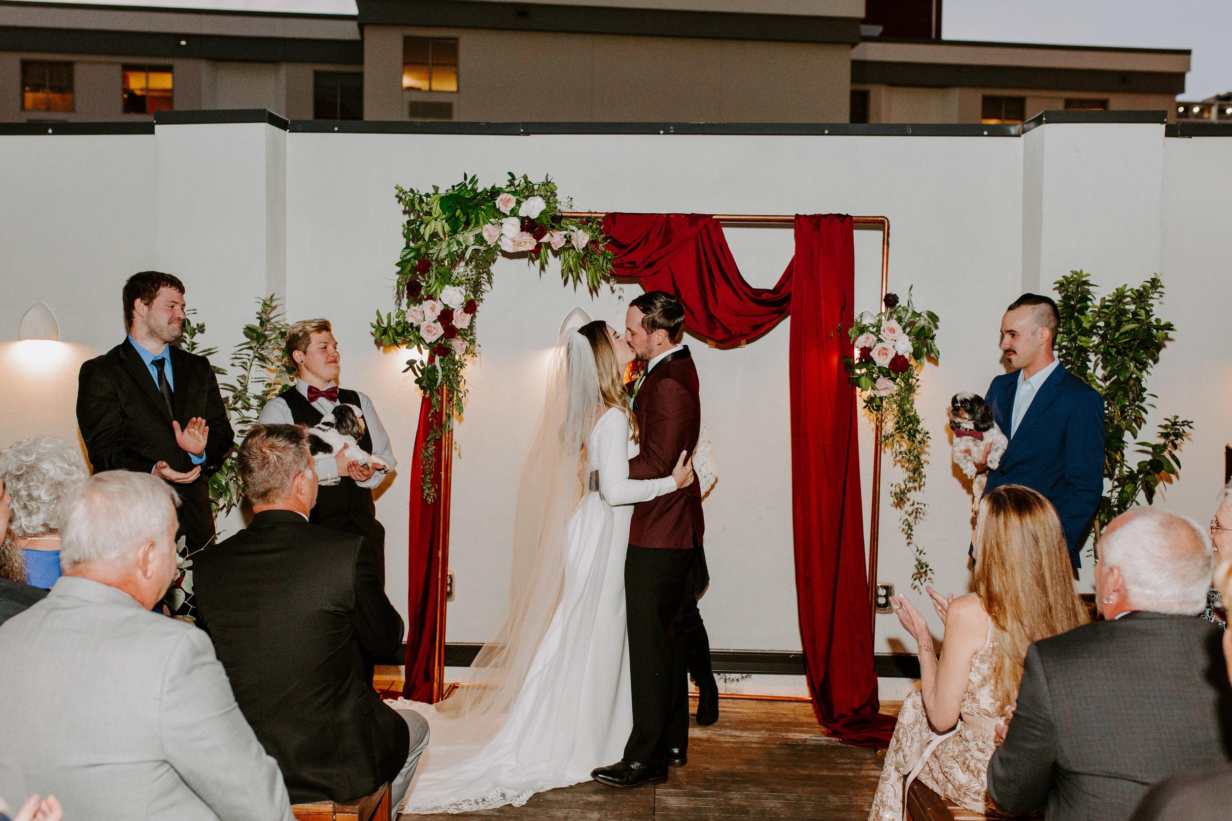 Catahoula Hotel Rooftop Wedding Ceremony New Orleans Wedding Photographer Ashley Biltz Photography44.jpg