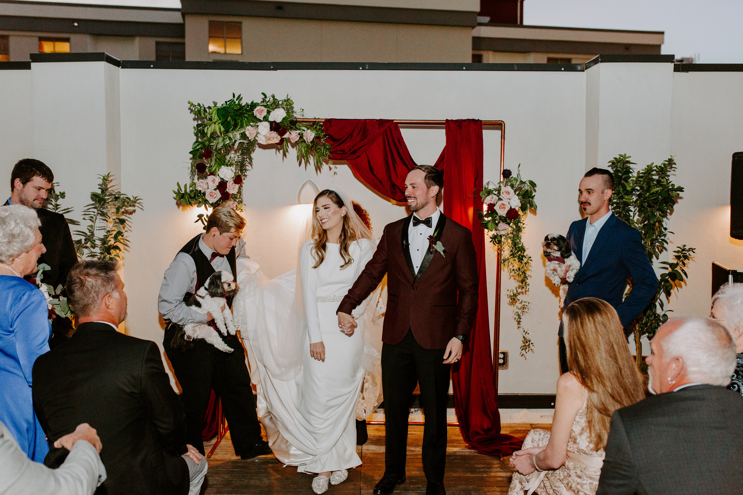 Catahoula Hotel Rooftop Wedding Ceremony New Orleans Wedding Photographer Ashley Biltz Photography45.jpg