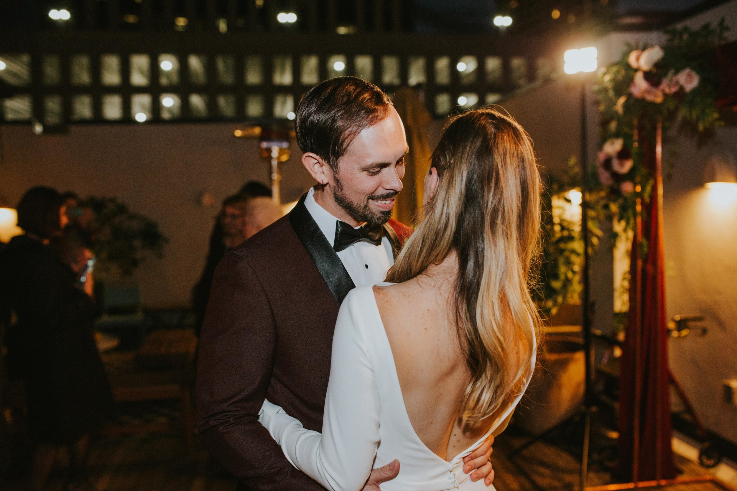 Catahoula Hotel Rooftop Wedding Reception New Orleans Wedding Photographer Ashley Biltz Photography2.jpg