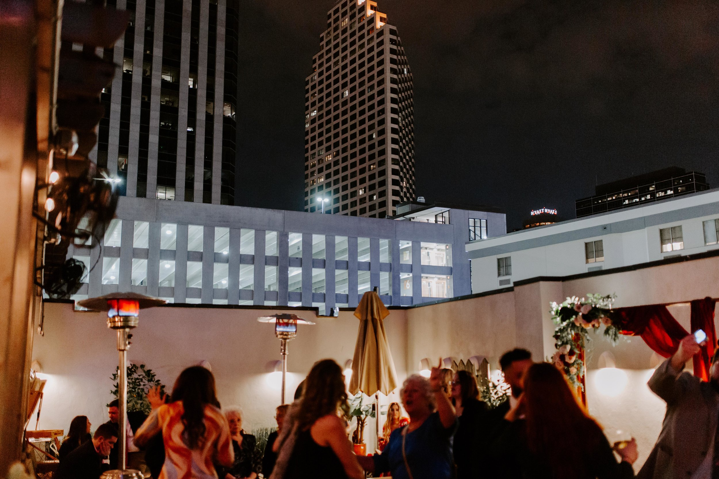 Catahoula Hotel Rooftop Wedding Reception New Orleans Wedding Photographer Ashley Biltz Photography44.jpg