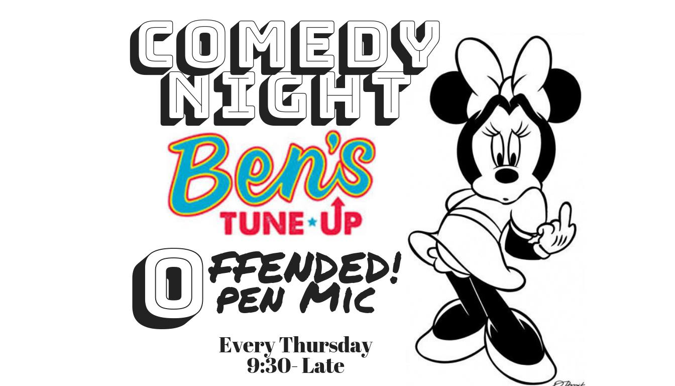 Every Thursday Night  Ben's is hosting an open Comedy night! Come see Ashevilles funniest musicians or come try out some comedy of your own. 9-till late