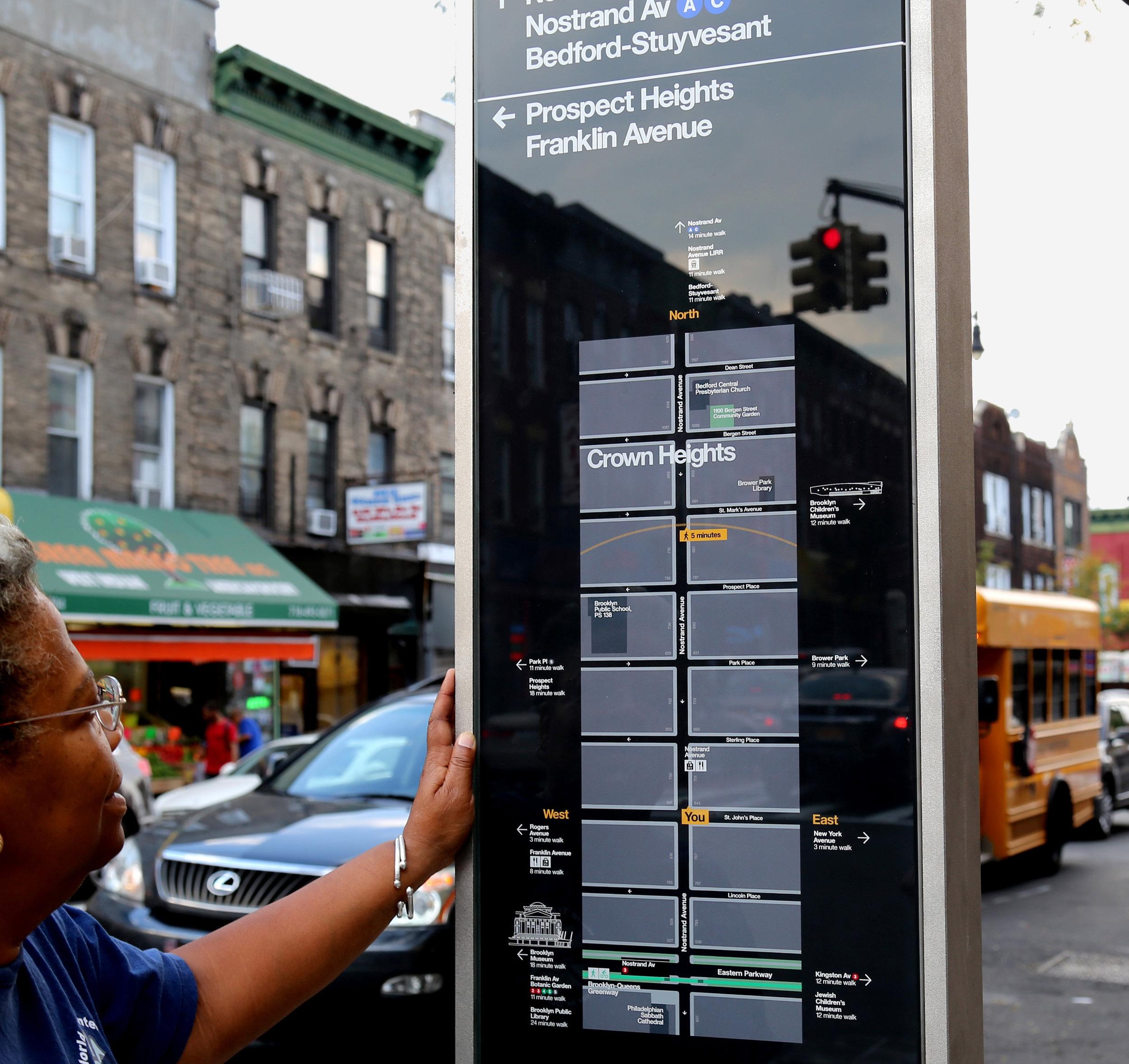 NYC wayfinding -