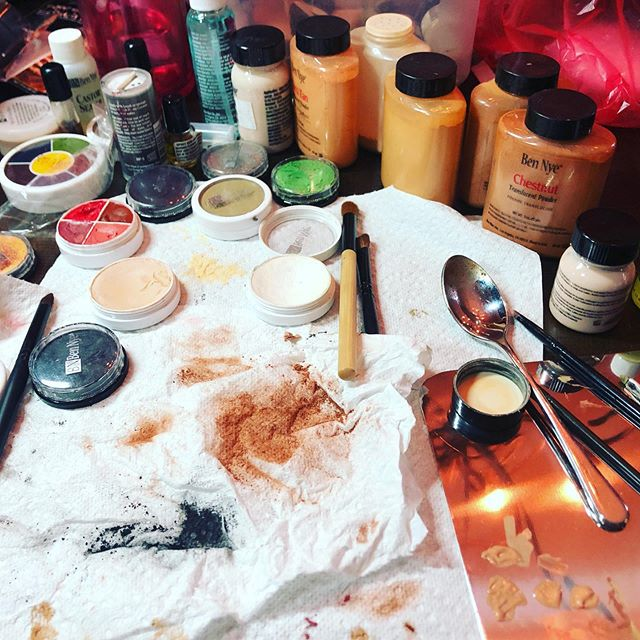 Sunday funday researching and planning character makeup for an upcoming scripted short series. #keymakeupartist #thisismypassion #mua #atlantamakeupartist #fxmakeup #dowhatyoulove