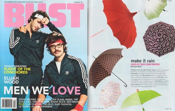 BUST magazine,