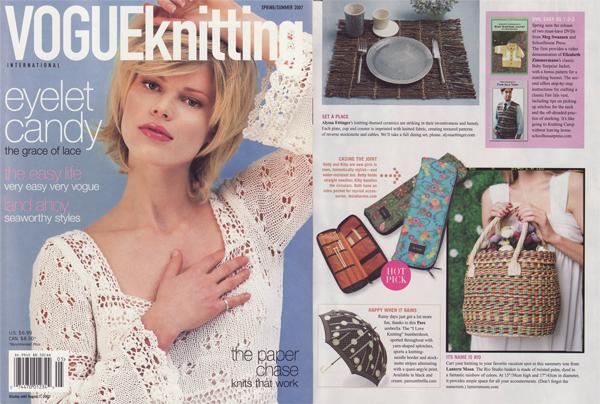 VOGUE knitting,