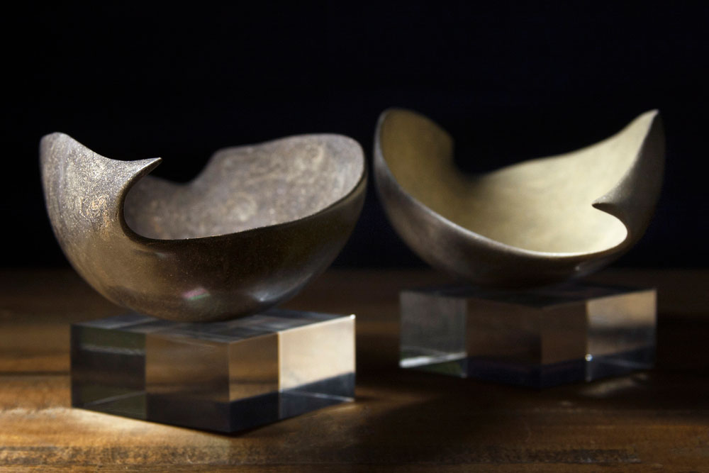 Raw Bowl Diptych No. 7
