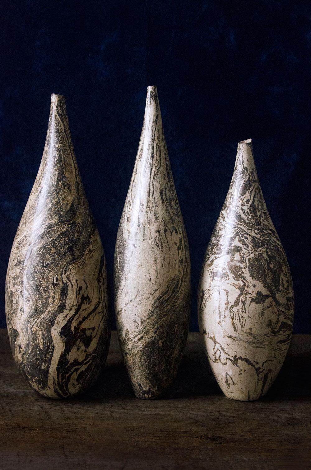 Raw Bottle Triptych No. 1