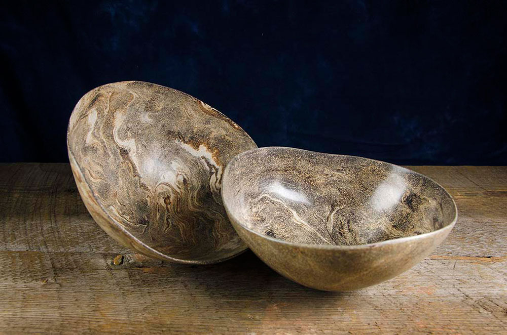 Raw Bowl Diptych No. 5