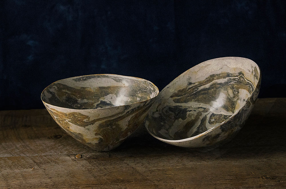 Raw Bowl Diptych No. 2