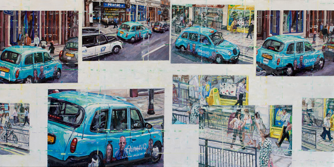 Paul Ettedgui Blue Taxi London