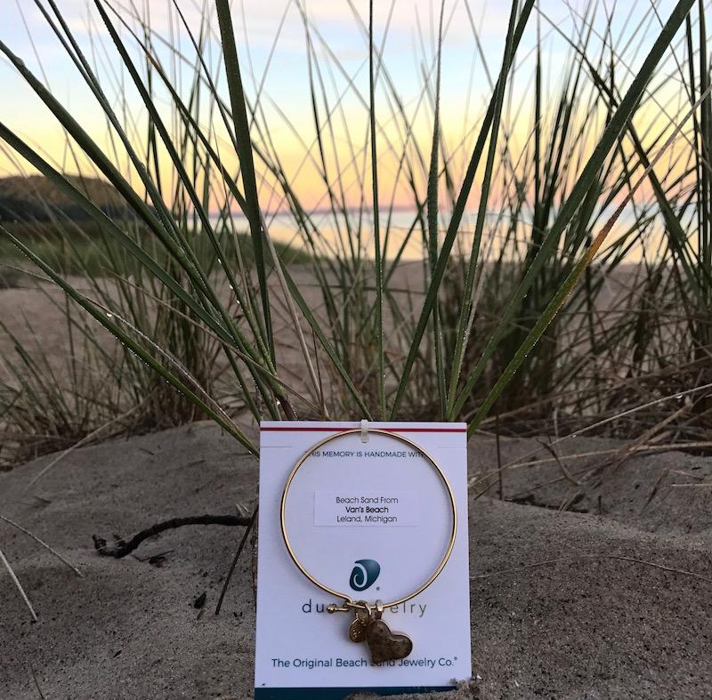 Dune Jewelry + beautiful Van's Beach sunrise