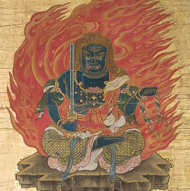 The Japanese deity Fudo Myoo is associated both with Iaido and Reiki practice.