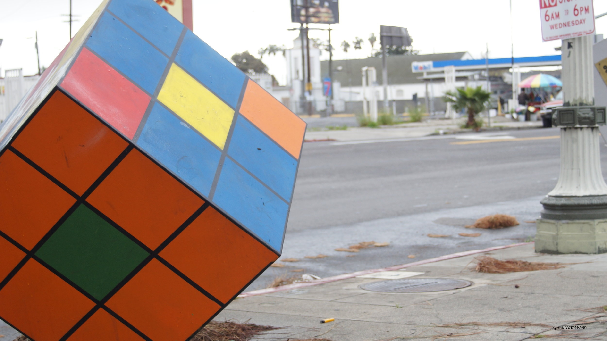 Upclose Rubix @ Slauson and Broadway.