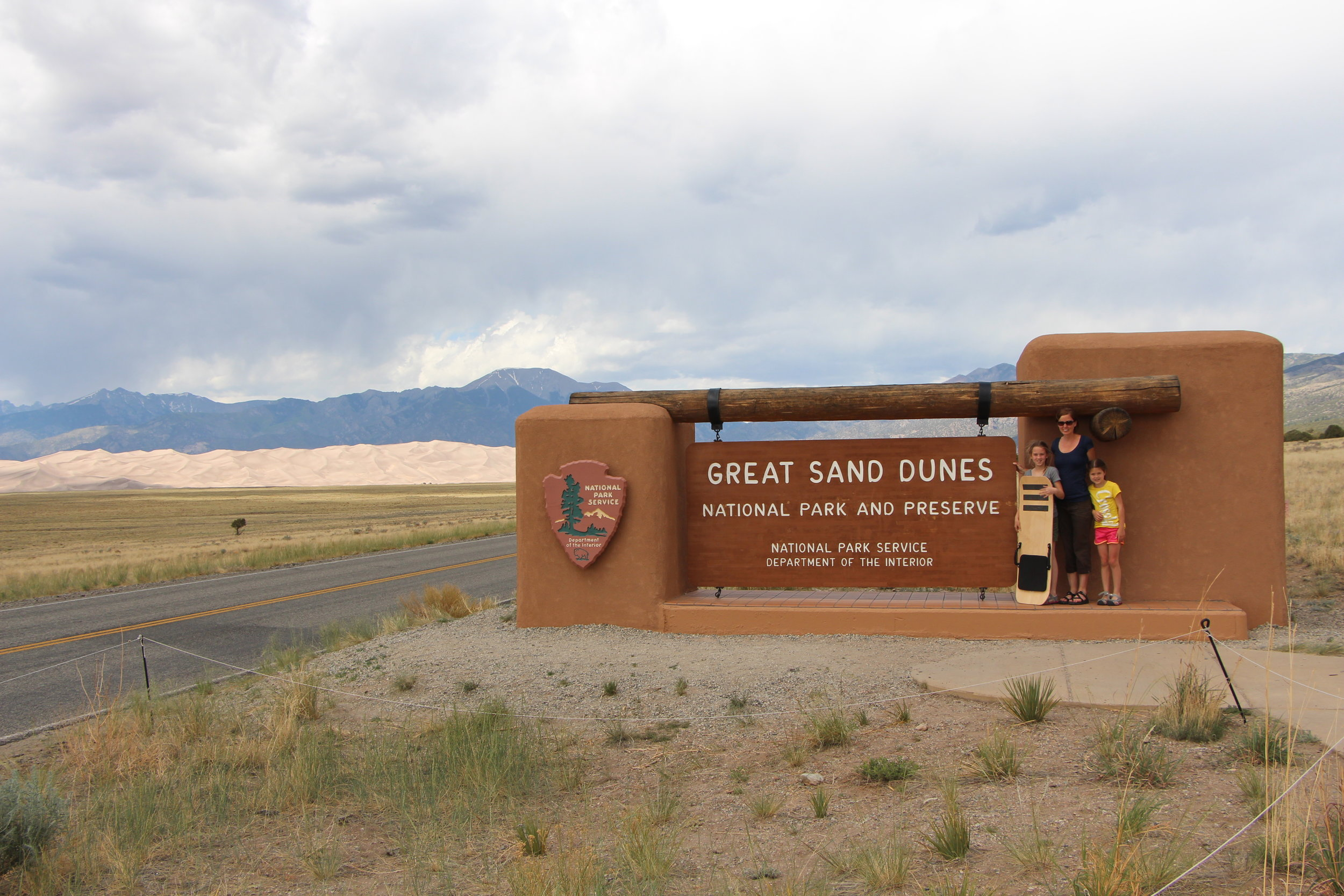 Great Sand Dunes Entry