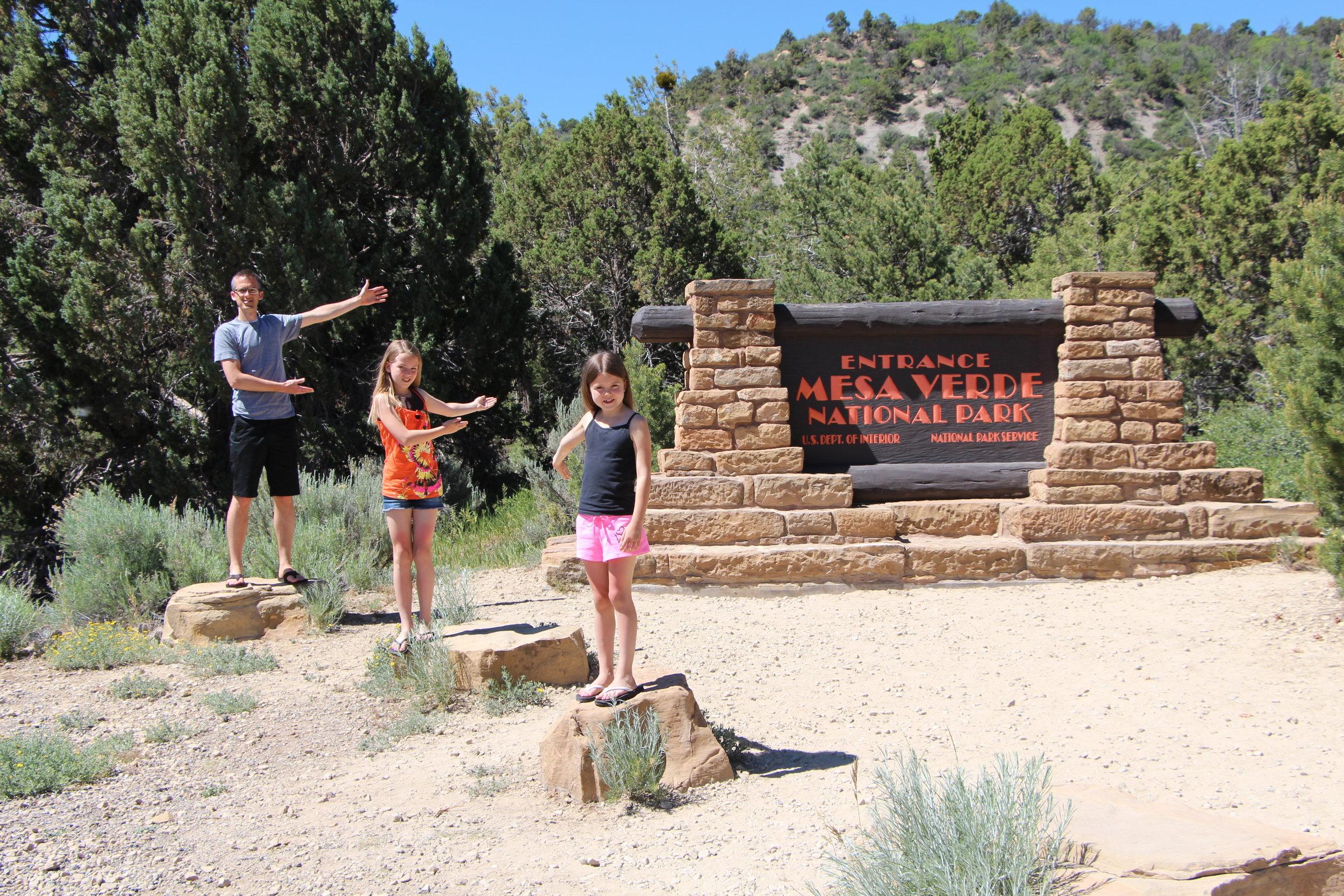 Mesa Verde National Park Entrance