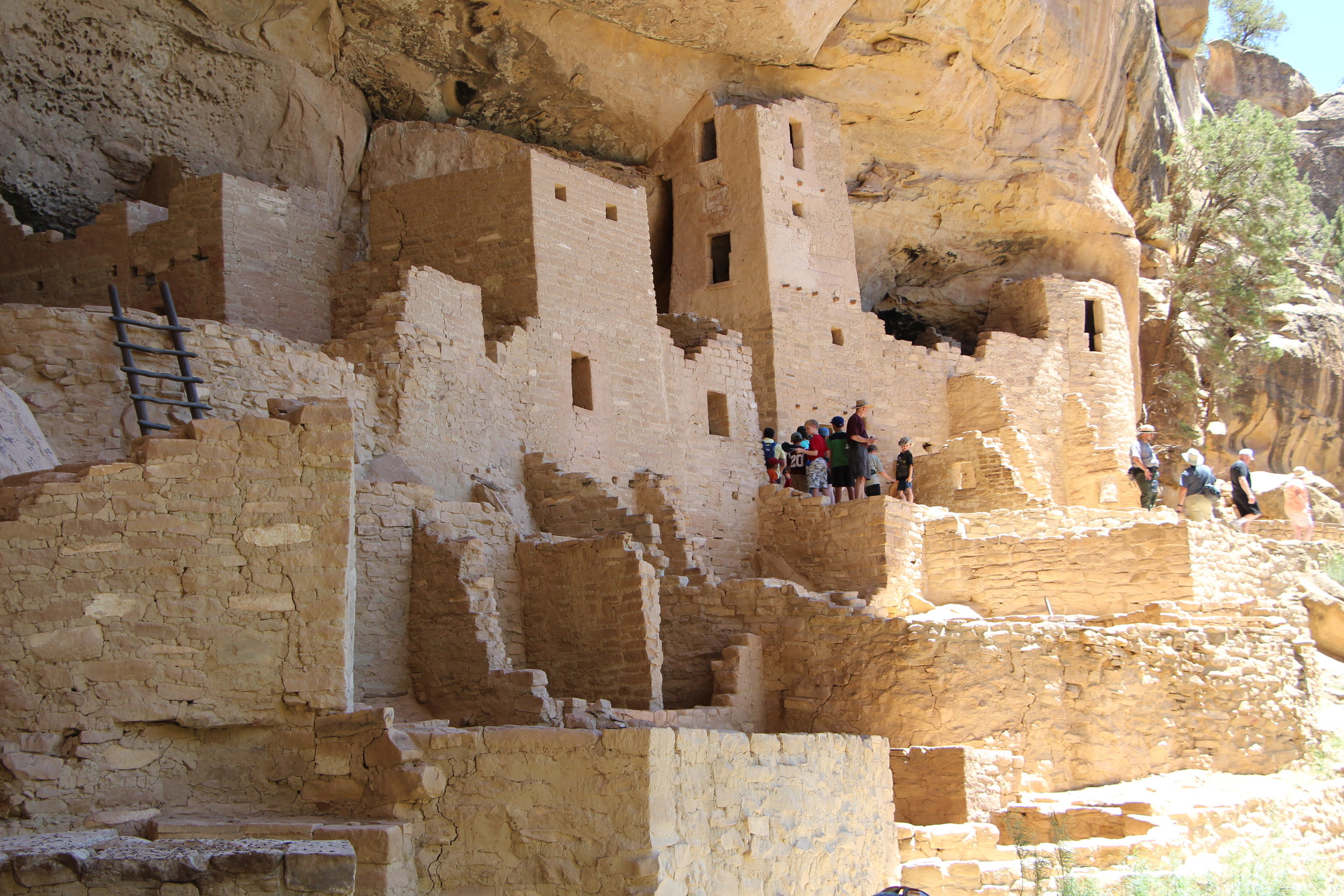 Mesa Verde Cliff Dwellings Close Up