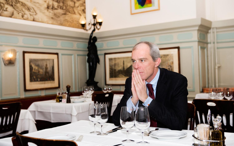 Rudolf Schiesser, Ehemaliger General Manager im Basler Hotel Les Trois Rois