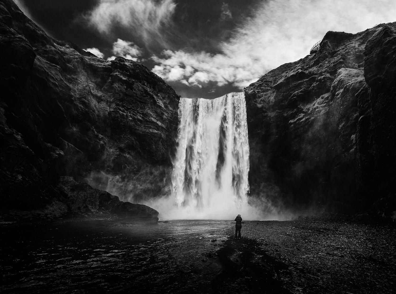Skogafos Waterfall in Iceland