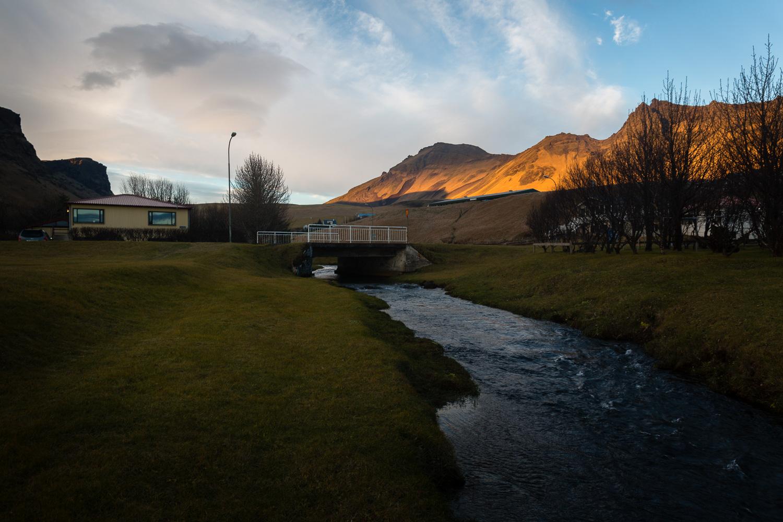River in Vik, Iceland