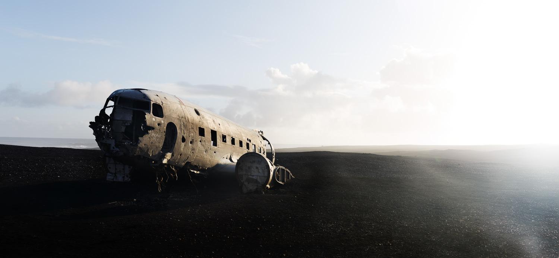 Solheimasandur Plane Wreck in Iceland