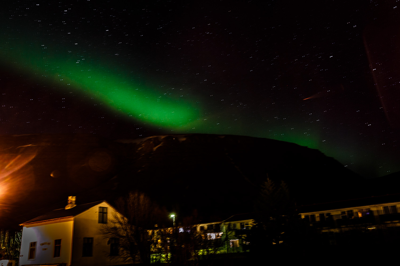 Aurora Borealis in Patreksfjörður, Iceland