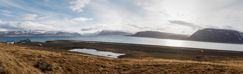 Bíldudalsflugvöllur, Airstrip in the Westfjords, Iceland
