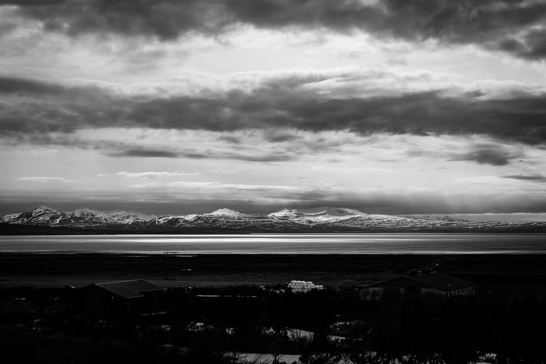 Mountain Range in Iceland