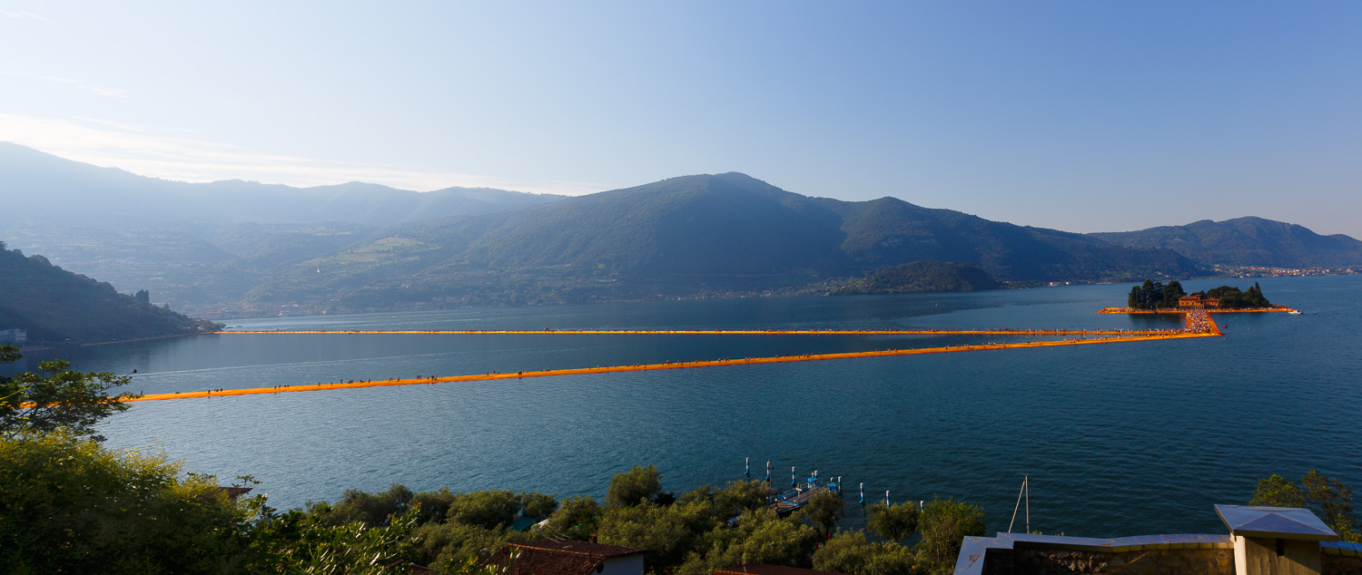 The Floating Piers - The Piers to Isola di San Paolo