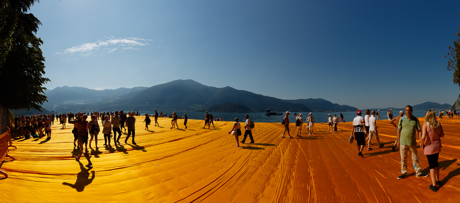 The Floating Piers - Around Isola di San Paolo
