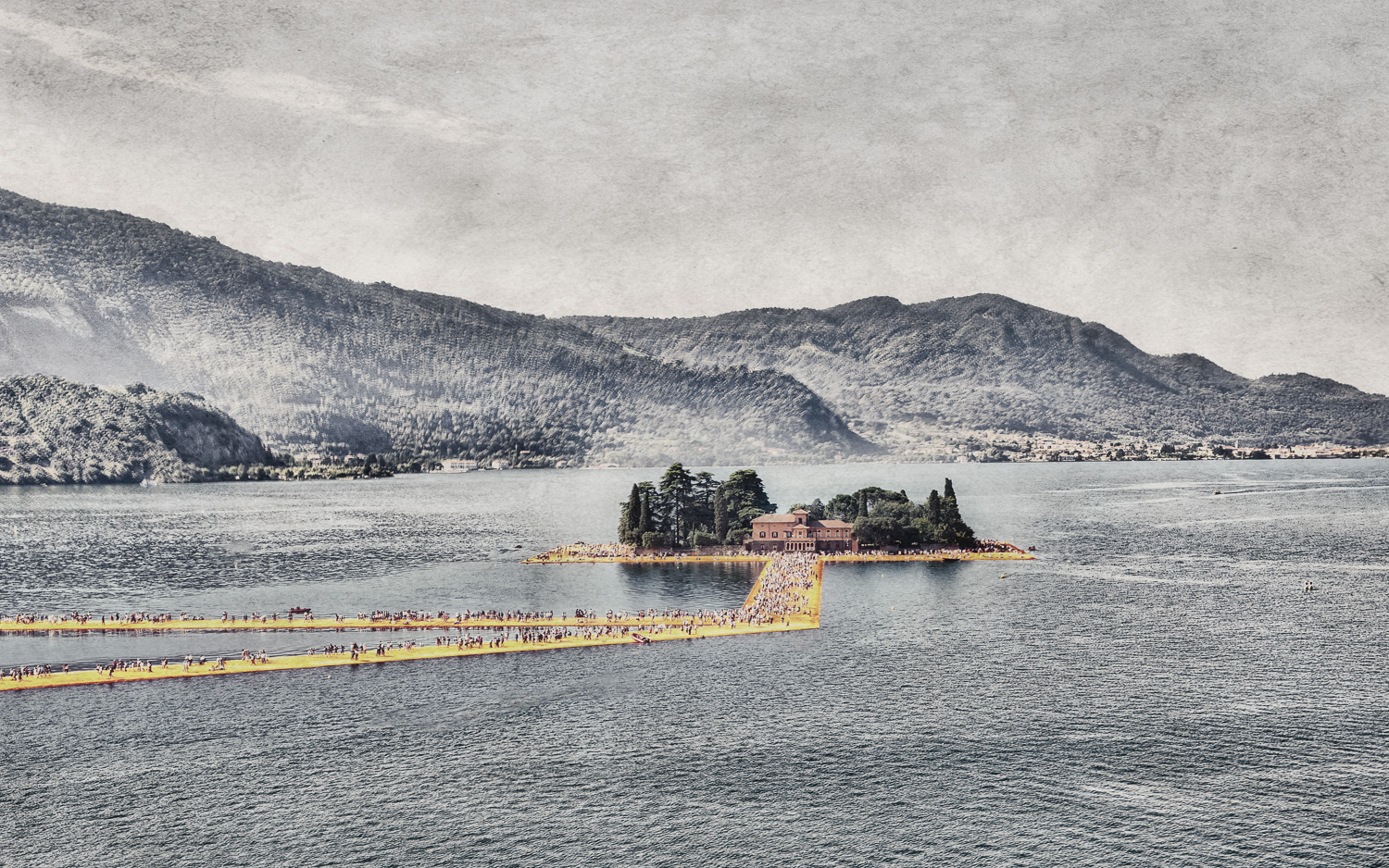 The Floating Piers - Isola di San Paolo