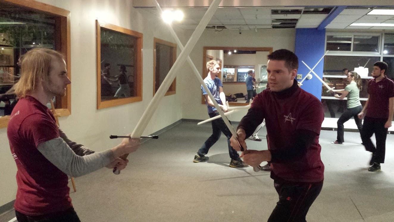 Longsword fencing classes