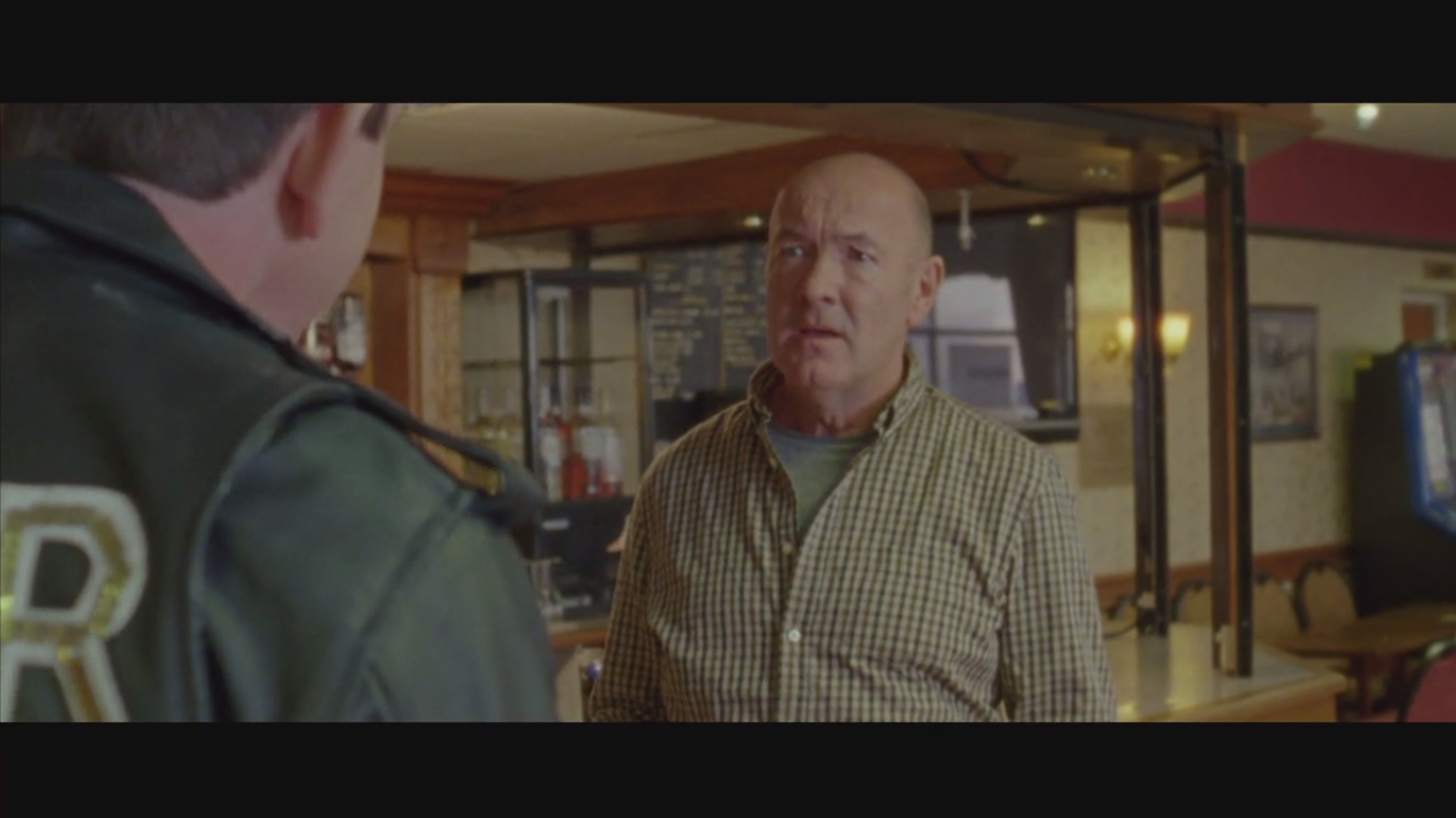 Screen grabs from short film 'Barry Glitter'