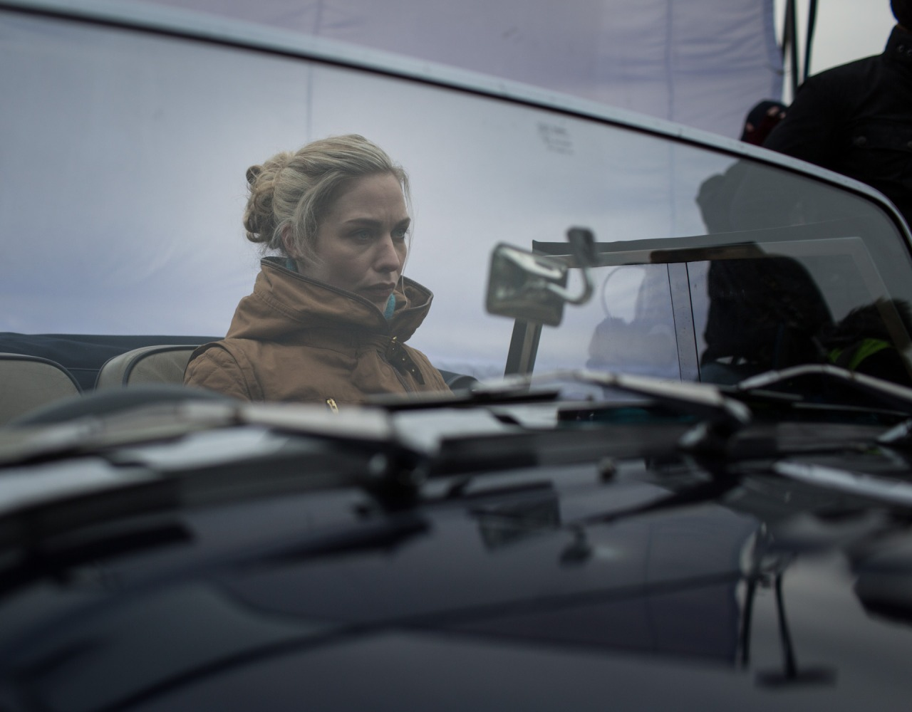 The car washer behind the scenes - photo by Gyorgy Lászlo