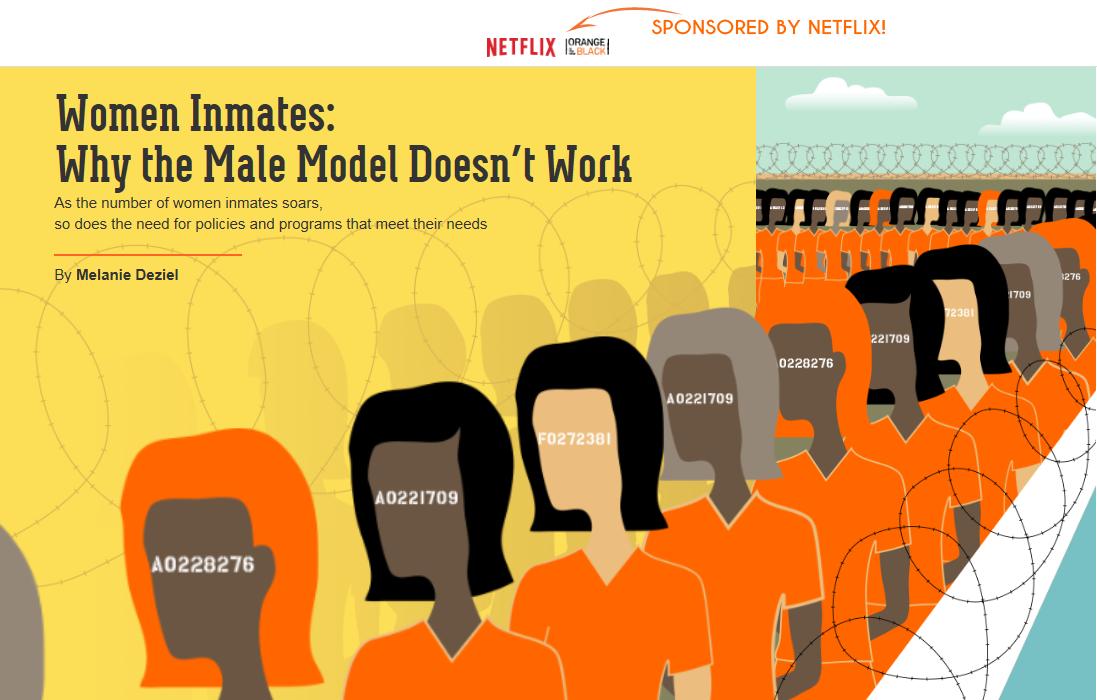New York Times: Netflix: Orange is the New Black Native Advertisement