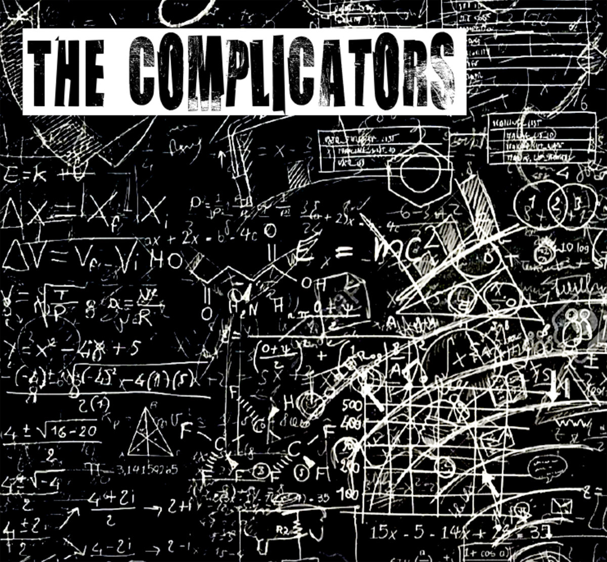 The Complicators - S/T EP (Pirates Press Records)