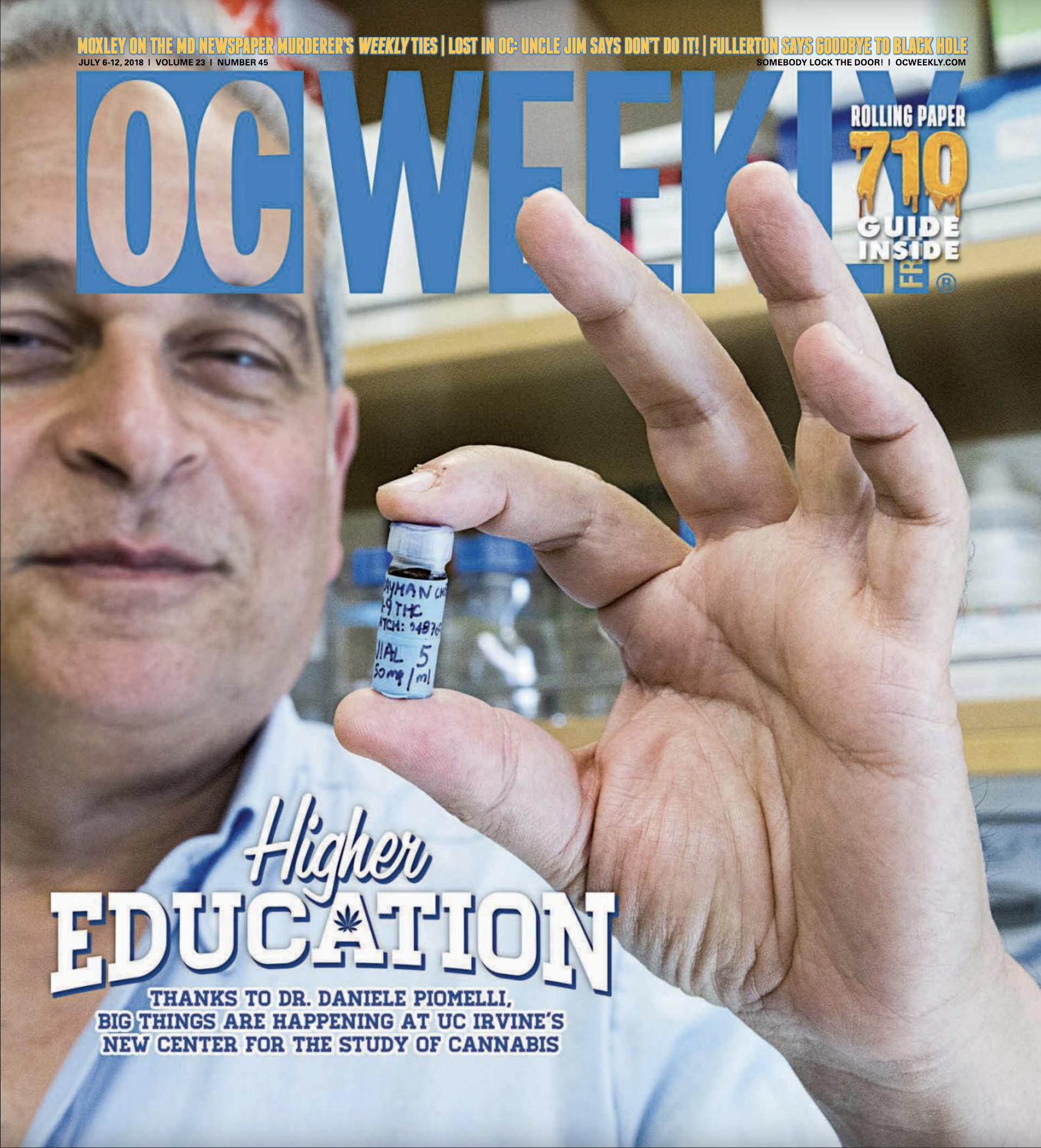 OC WEEKLY Cover Story