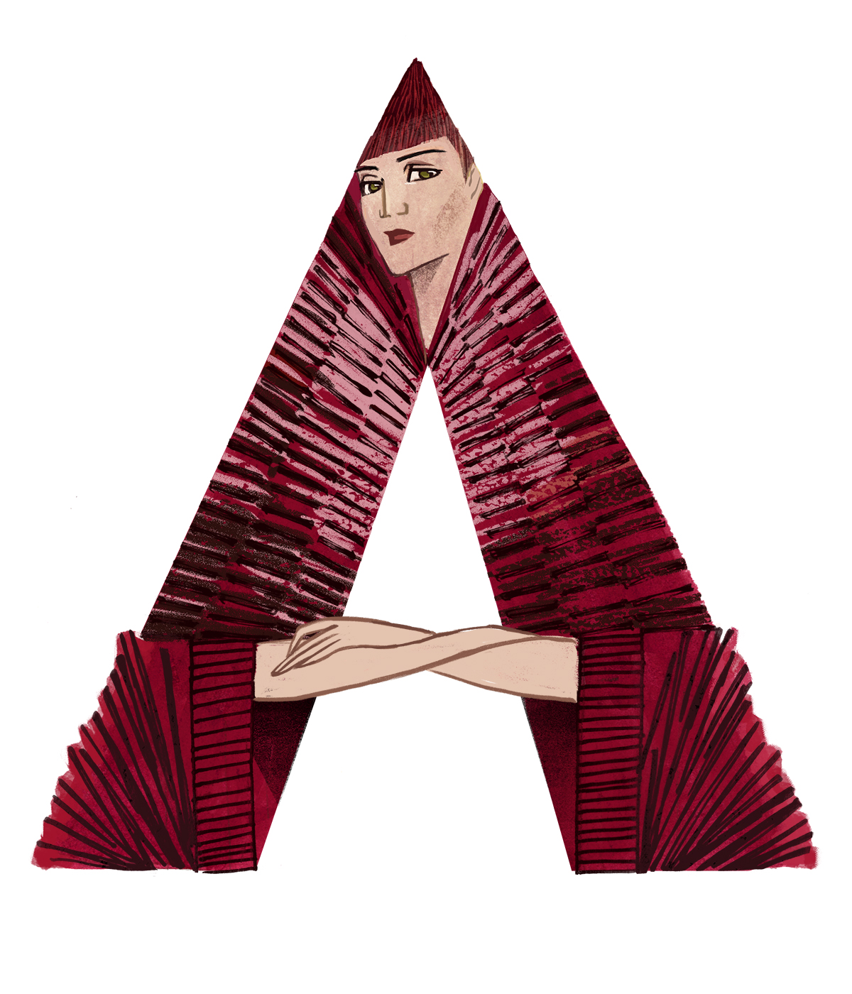 A is from Gareth Pugh