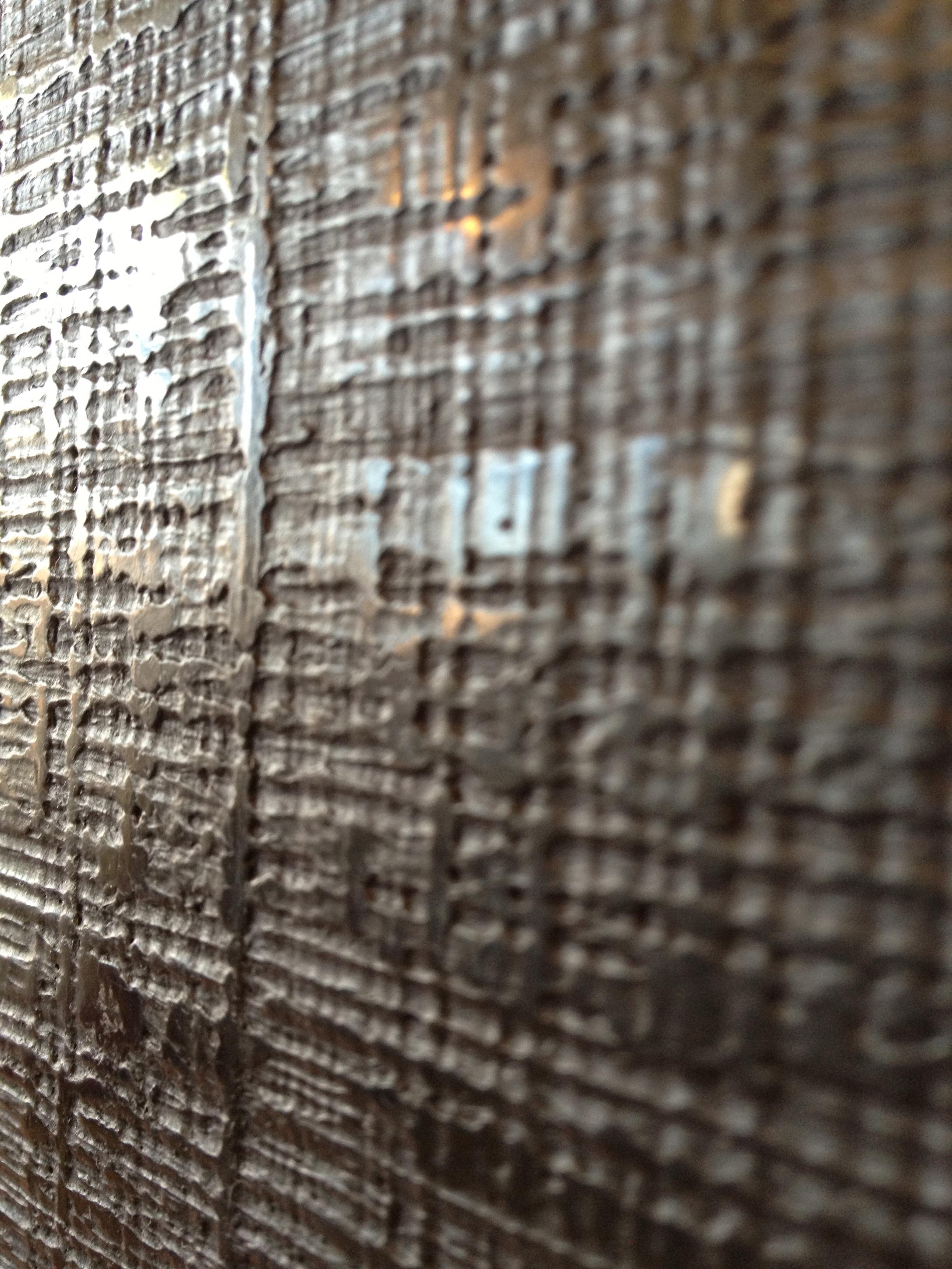 Linen Weave Plaster