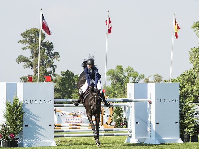 Molly Ashe and Balous Day Date at the Live Oak International