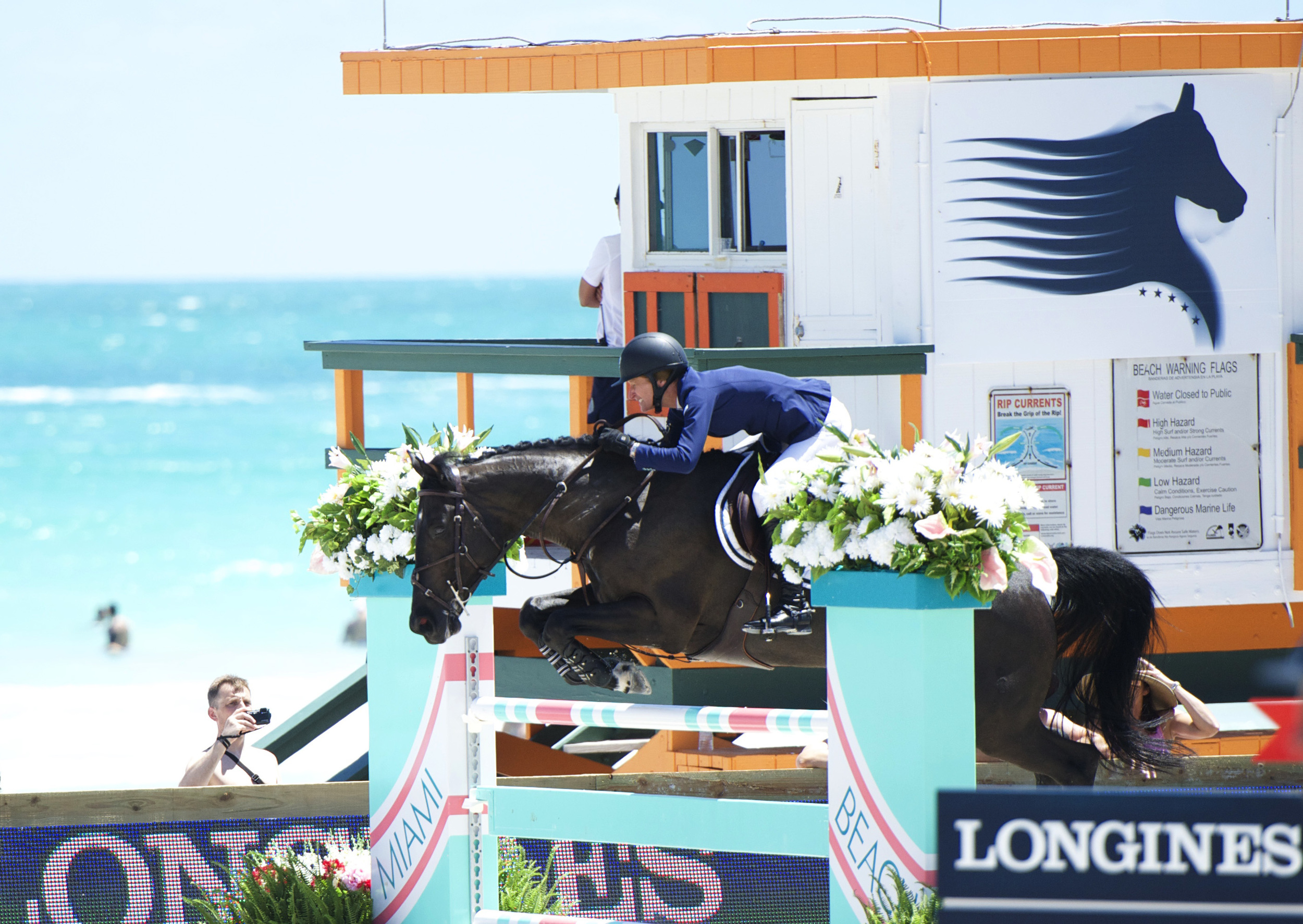 Molly Ashe and Balous Day Date at the Global Champions Tour event in Miami