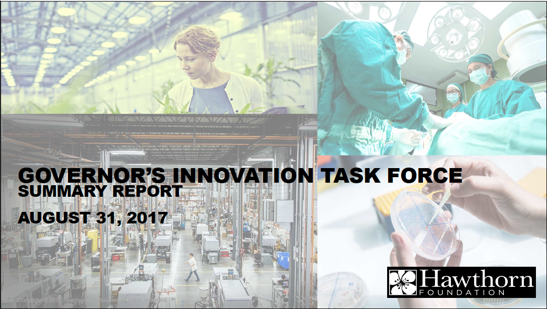 Read the Governor's Innovation Task Force's summary report