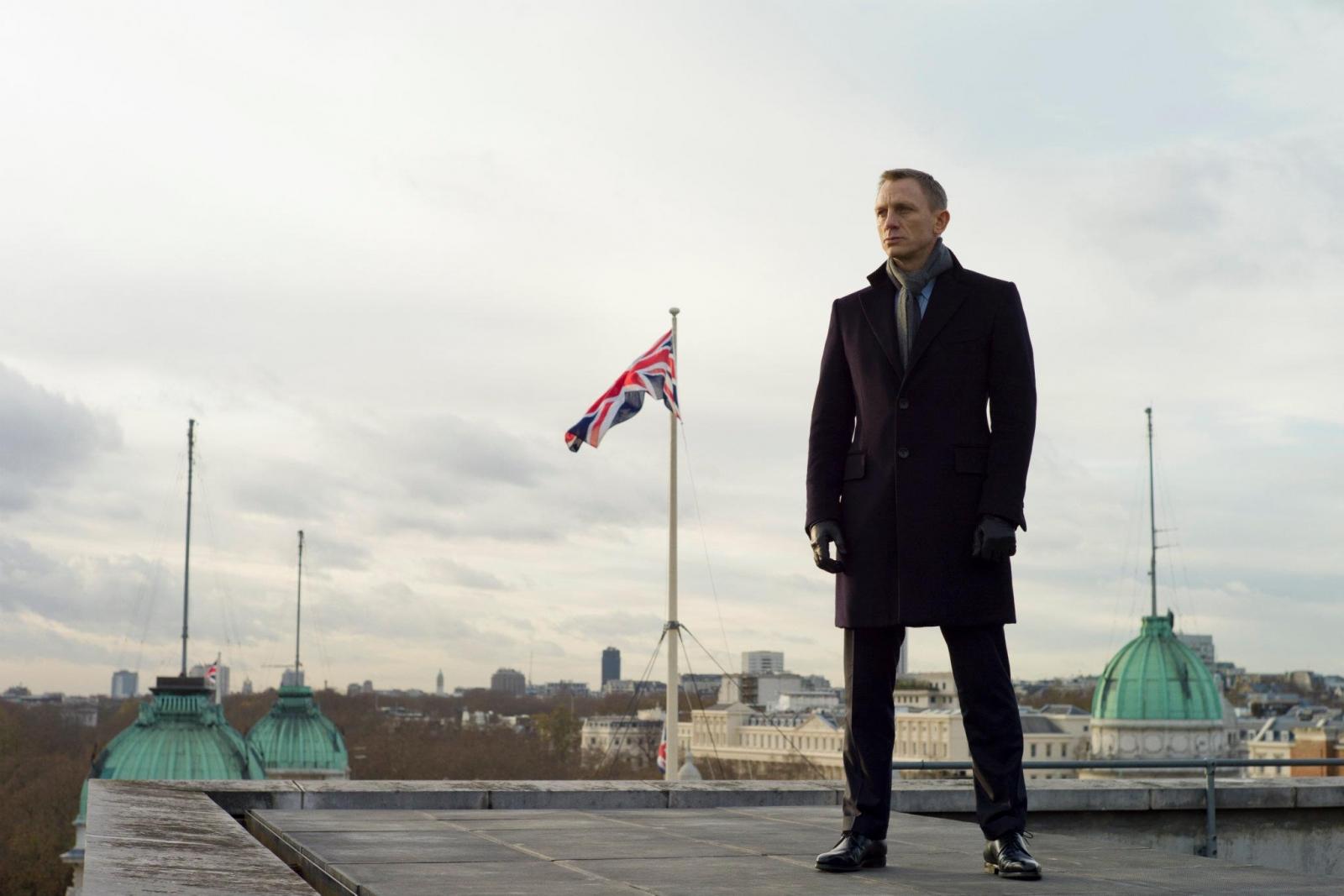The very British Bond