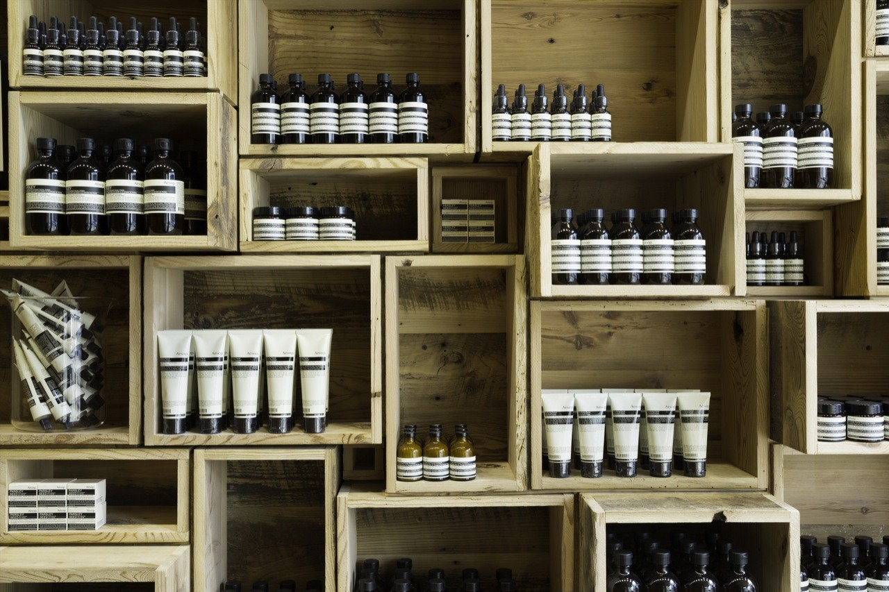 San Francisco's Aesop signature store on Fillmore Street takes us back to basics.